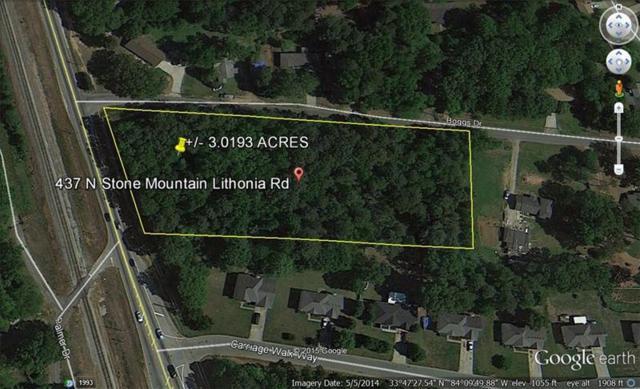 437 S S Stone Mtn Lithonia Road, Stone Mountain, GA 30088 (MLS #6005151) :: The Bolt Group