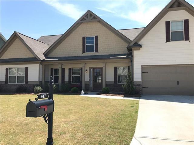647 Brakeman Circle, Jefferson, GA 30549 (MLS #6005457) :: Iconic Living Real Estate Professionals