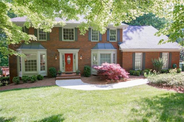 5585 Fort Fisher Way, Peachtree Corners, GA 30092 (MLS #6009789) :: The Russell Group