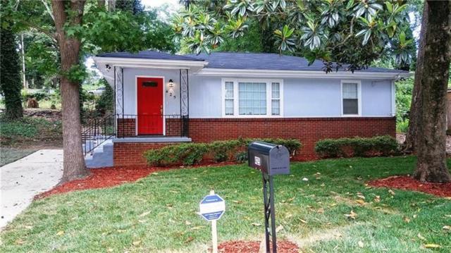 425 New Jersey Avenue NW, Atlanta, GA 30314 (MLS #6011130) :: RE/MAX Paramount Properties