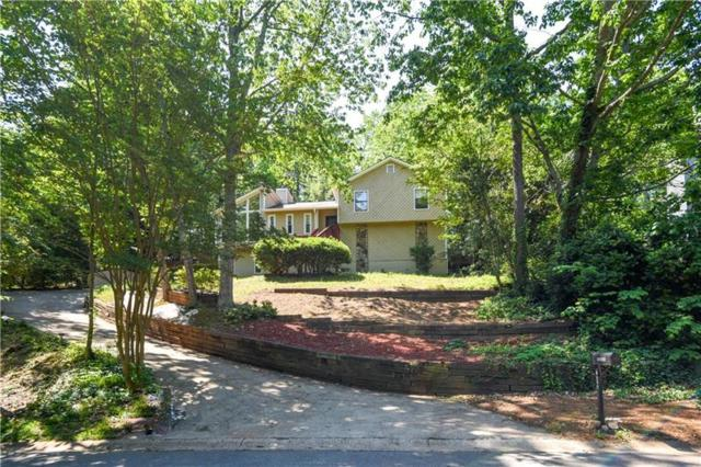1510 NE Rockcrest Way NE, Marietta, GA 30062 (MLS #6012406) :: The Russell Group