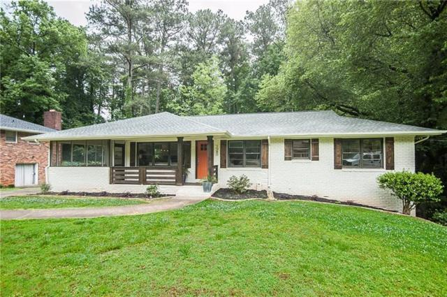 1080 Oakdale Drive SE, Smyrna, GA 30080 (MLS #6013037) :: North Atlanta Home Team