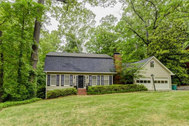 455 Wyncourtney Drive, Atlanta, GA 30328 (MLS #6013598) :: The Russell Group
