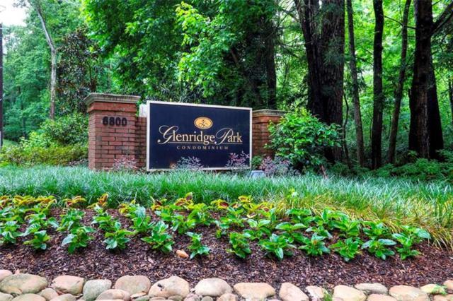 6810 Glenridge Drive NE J, Atlanta, GA 30328 (MLS #6015648) :: North Atlanta Home Team