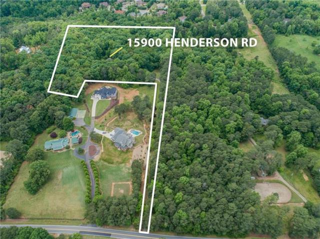15900 Henderson Road, Milton, GA 30004 (MLS #6016346) :: RE/MAX Prestige