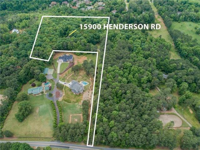 15900 Henderson Road, Milton, GA 30004 (MLS #6017071) :: RE/MAX Prestige