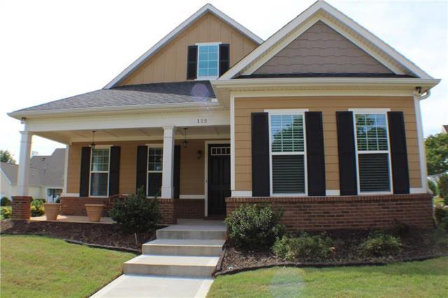 115 Linton Hall Hollow, Fayetteville, GA 30214 (MLS #6019666) :: The Hinsons - Mike Hinson & Harriet Hinson