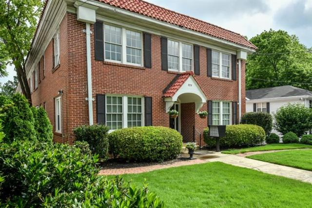 824 Greenwood Avenue NE #1, Atlanta, GA 30306 (MLS #6019755) :: North Atlanta Home Team