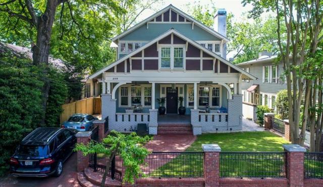 349 9th Street NE, Atlanta, GA 30309 (MLS #6023664) :: The Justin Landis Group