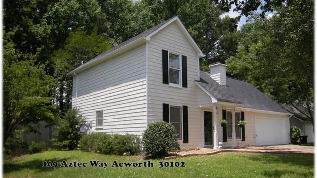 109 Aztec Way SE, Acworth, GA 30102 (MLS #6024237) :: RE/MAX Paramount Properties