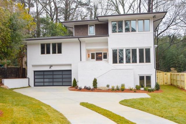 1453 Brook Valley Lane NE, Atlanta, GA 30324 (MLS #6029543) :: North Atlanta Home Team