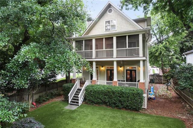 855 Saint Charles Avenue NE B, Atlanta, GA 30306 (MLS #6029626) :: RE/MAX Paramount Properties