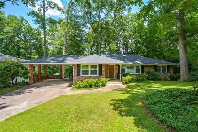 2152 Council Bluff Court NE, Atlanta, GA 30345 (MLS #6031291) :: RE/MAX Paramount Properties