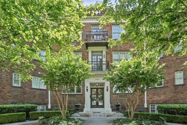 908 Juniper Street NE #205, Atlanta, GA 30309 (MLS #6034900) :: RE/MAX Paramount Properties