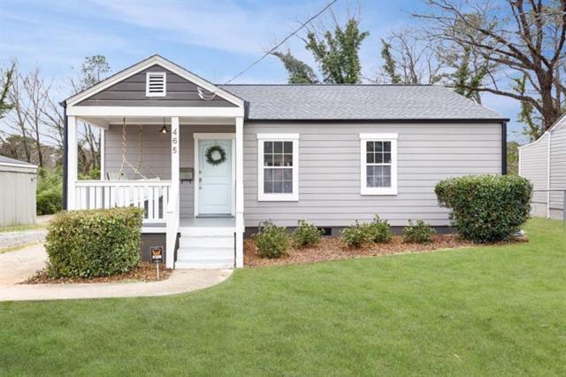465 Morgan Place SE, Decatur, GA 30032 (MLS #6035565) :: North Atlanta Home Team