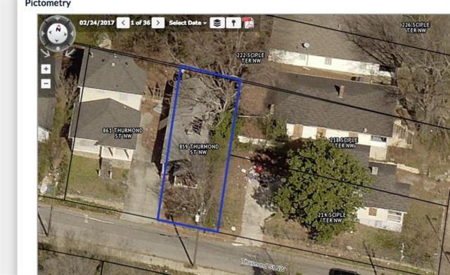 859 Thurmond Street NW, Atlanta, GA 30314 (MLS #6036997) :: RE/MAX Paramount Properties
