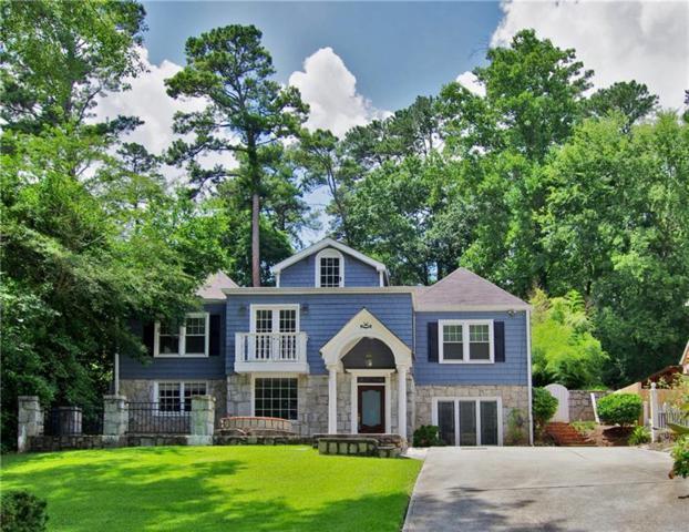 1690 Pine Ridge Drive NE, Atlanta, GA 30324 (MLS #6038704) :: The Hinsons - Mike Hinson & Harriet Hinson