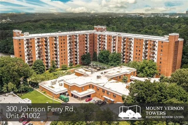 300 Johnson Ferry Road NE A1002, Sandy Springs, GA 30328 (MLS #6041108) :: RE/MAX Paramount Properties