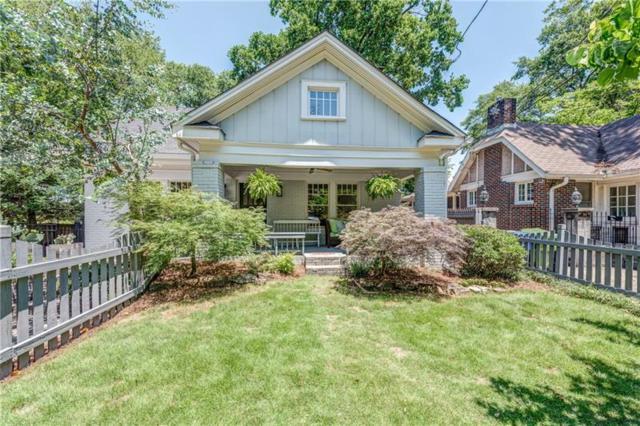 856 Greenwood Avenue NE, Atlanta, GA 30306 (MLS #6041255) :: RE/MAX Paramount Properties