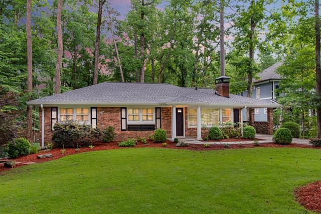3160 Merrick Drive NE, Atlanta, GA 30324 (MLS #6041682) :: RCM Brokers