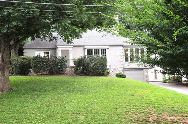 1106 Lanier Boulevard NE, Atlanta, GA 30306 (MLS #6041803) :: RE/MAX Paramount Properties