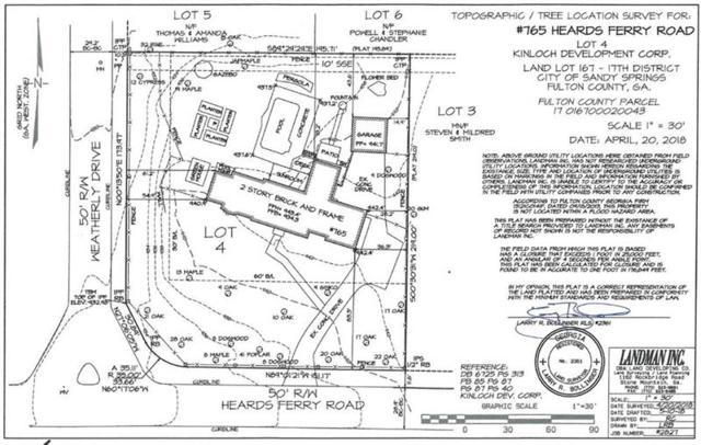 765 Heards Ferry Road, Sandy Springs, GA 30338 (MLS #6042247) :: Kennesaw Life Real Estate