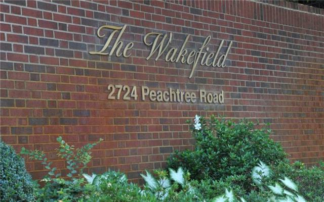 2724 Peachtree Road NW #302, Atlanta, GA 30305 (MLS #6043539) :: North Atlanta Home Team