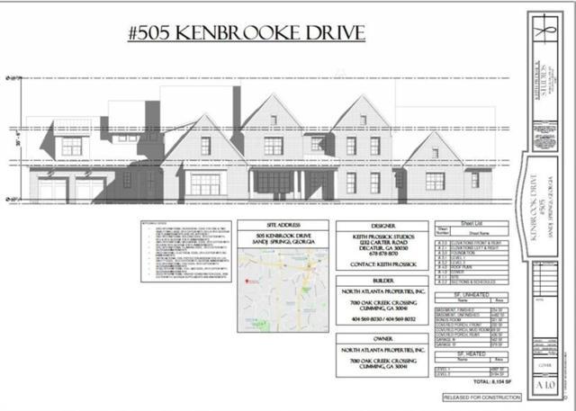 505 Kenbrook Drive, Sandy Springs, GA 30327 (MLS #6043606) :: North Atlanta Home Team