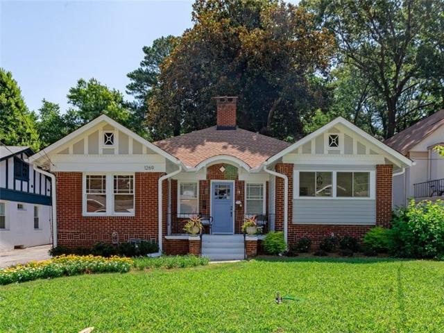 1269 N Highland Avenue NE, Atlanta, GA 30306 (MLS #6043988) :: RE/MAX Paramount Properties