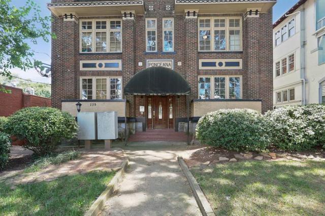 229 Ponce De Leon Ave. Avenue NE #7, Atlanta, GA 30308 (MLS #6044693) :: Charlie Ballard Real Estate