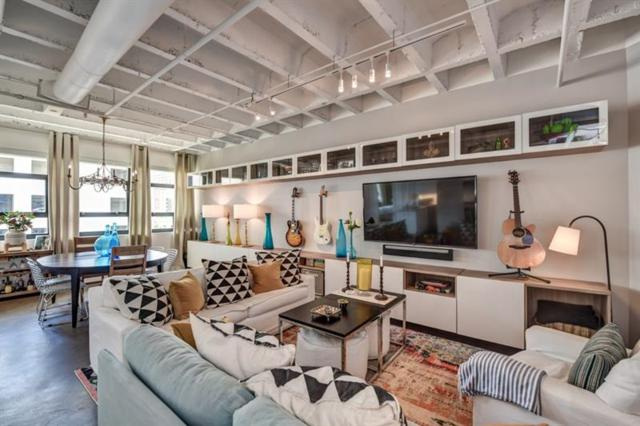 878 Peachtree Street NE #530, Atlanta, GA 30309 (MLS #6045407) :: Charlie Ballard Real Estate