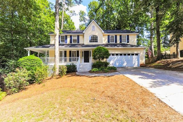 1231 Providence Drive, Lawrenceville, GA 30044 (MLS #6047053) :: The Russell Group