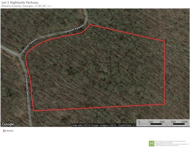 Lot 5 Highlands Parkway, Jasper, GA 30143 (MLS #6047177) :: Iconic Living Real Estate Professionals