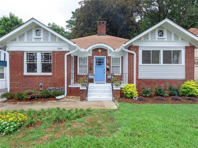1269 N Highland Avenue NE, Atlanta, GA 30306 (MLS #6053061) :: The Justin Landis Group