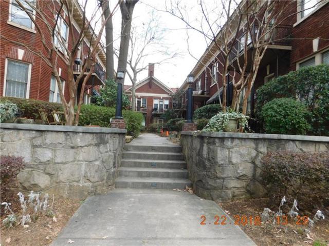 1015 Piedmont Avenue NE D1, Atlanta, GA 30309 (MLS #6054563) :: North Atlanta Home Team