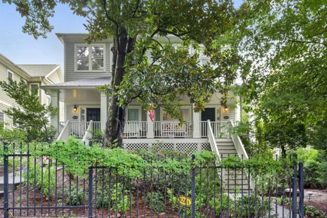 821 Edgewood Avenue NE A, Atlanta, GA 30307 (MLS #6055080) :: Buy Sell Live Atlanta