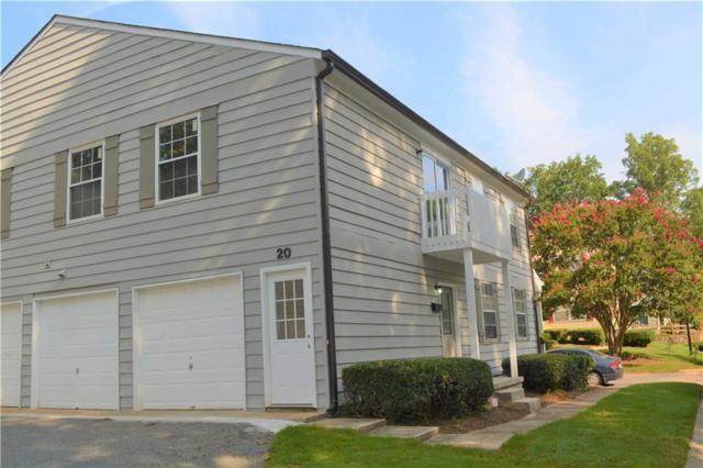 1396 Old Coach Road SW #20, Marietta, GA 30008 (MLS #6058633) :: Kennesaw Life Real Estate