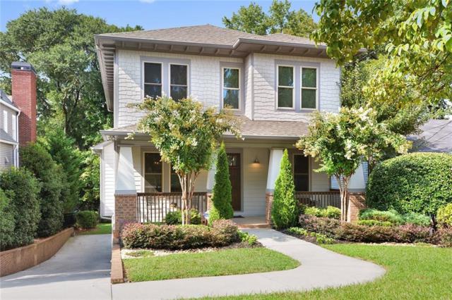 746 Ponce De Leon Terrace NE, Atlanta, GA 30306 (MLS #6062522) :: The Russell Group