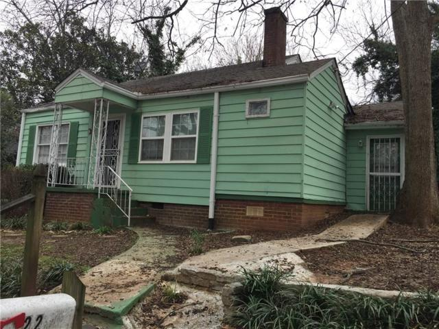 22 Stillman Street SE, Atlanta, GA 30315 (MLS #6066210) :: The Russell Group