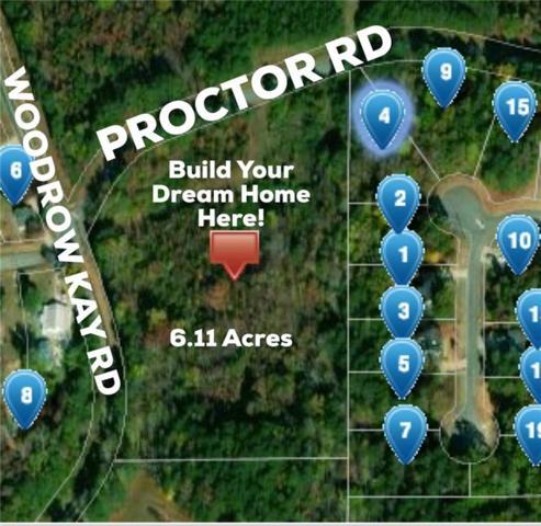0 Proctor Road, Rockmart, GA 30153 (MLS #6068619) :: Iconic Living Real Estate Professionals