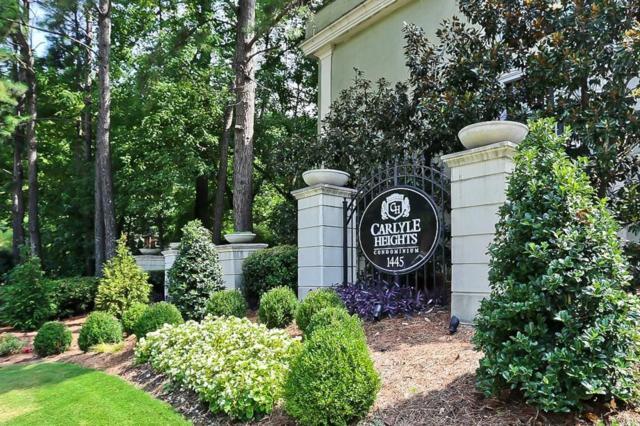 1445 Monroe Drive NE F24, Atlanta, GA 30324 (MLS #6068874) :: Iconic Living Real Estate Professionals