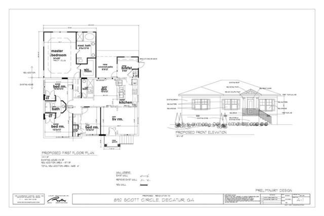 892 Scott Circle, Decatur, GA 30033 (MLS #6069484) :: RCM Brokers