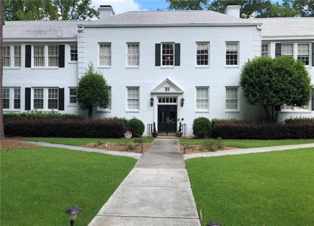 21 Peachtree Memorial Drive NW #5, Atlanta, GA 30309 (MLS #6072095) :: North Atlanta Home Team
