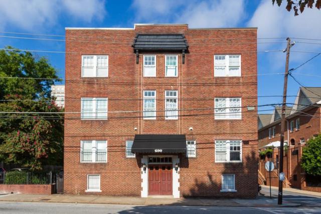 690 Piedmont Avenue NE #9, Atlanta, GA 30308 (MLS #6073200) :: Charlie Ballard Real Estate