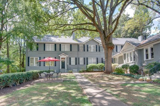 1350 N Morningside Drive NE #18, Atlanta, GA 30306 (MLS #6074528) :: Iconic Living Real Estate Professionals