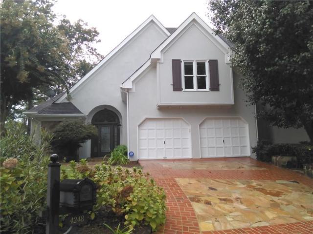 4248 Wieuca Overlook NE, Atlanta, GA 30342 (MLS #6075944) :: Iconic Living Real Estate Professionals