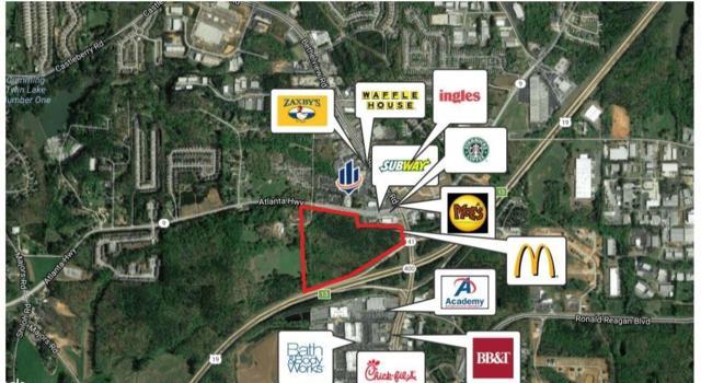 0 Atlanta Highway, Cumming, GA 30040 (MLS #6076209) :: North Atlanta Home Team