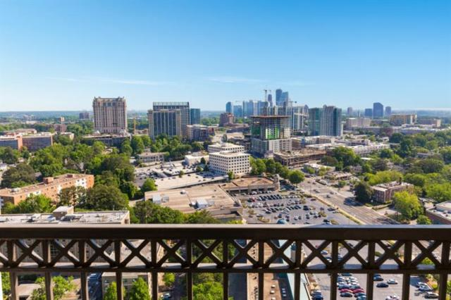 2828 Peachtree Road NW #2701, Atlanta, GA 30305 (MLS #6077911) :: The North Georgia Group