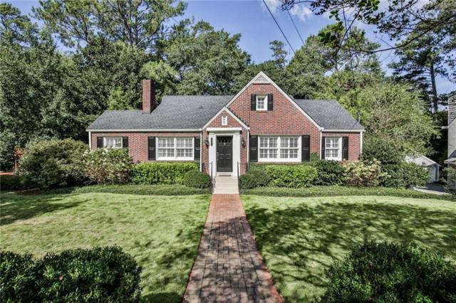 1722 Noble Drive NE, Atlanta, GA 30306 (MLS #6080886) :: North Atlanta Home Team