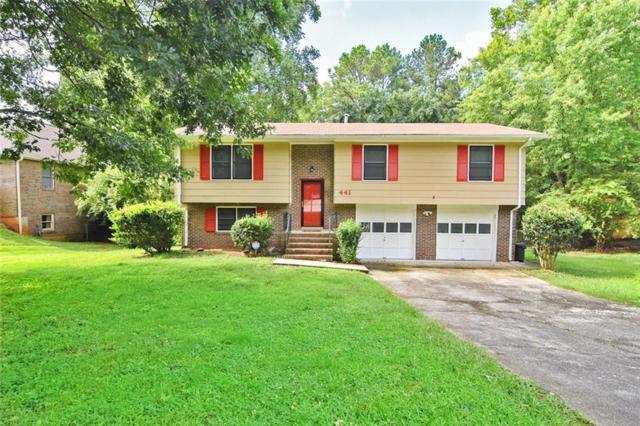 441 Foxfire Drive SW, Smyrna, GA 30082 (MLS #6085775) :: Keller Williams Realty Cityside